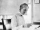 Henrietta Swan Leavitt at her desk